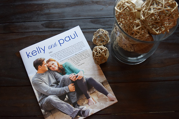 Kelly and Paul book